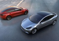 Tesla Model 3 a fost oficial lansat.