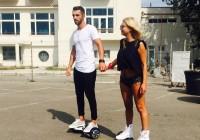 Crina Matei adora hoverboard-ul FreeWheel