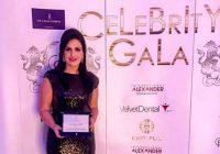 """Loredana Apreutese a primit premiul de excelență în managementul firmei International Alexander în cadrul Galei I Success """"Celebrity Awards – Femei de Succes"""""""