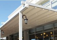 Pergole retractabile, ultima inovaţie pentru terasa ta. Află unde le găsim şi cum le alegem.