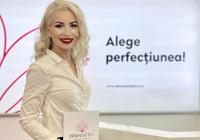 Dr. Karina Ilonca a primit premiul pentru Performanţă în dermatologie şi estetică medicală